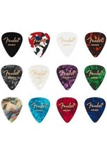 Fender Fender Plectrum Celluloid Medley Plectrums 12 stuks