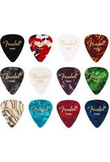 Fender Fender plectrums Celluloid Medley plectrum 12 stuks