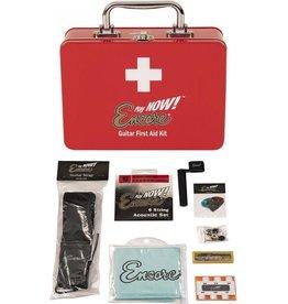 Encore Premium Akoestische Gitaar accesoires EHBO Kit met gitaarsnaren - snarenwinder - gitaar riem - stemfluitje - plectrums