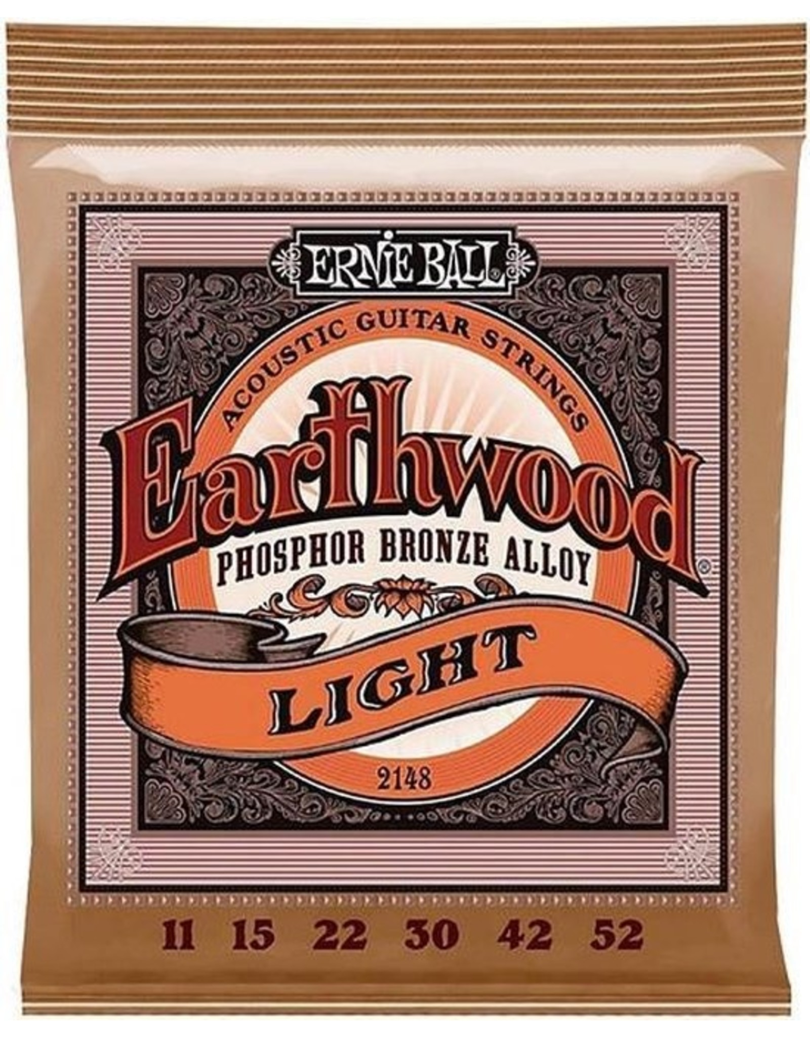 Ernie Ball Ernie Ball Earthwood Snarenset Akoestisch EB-2148