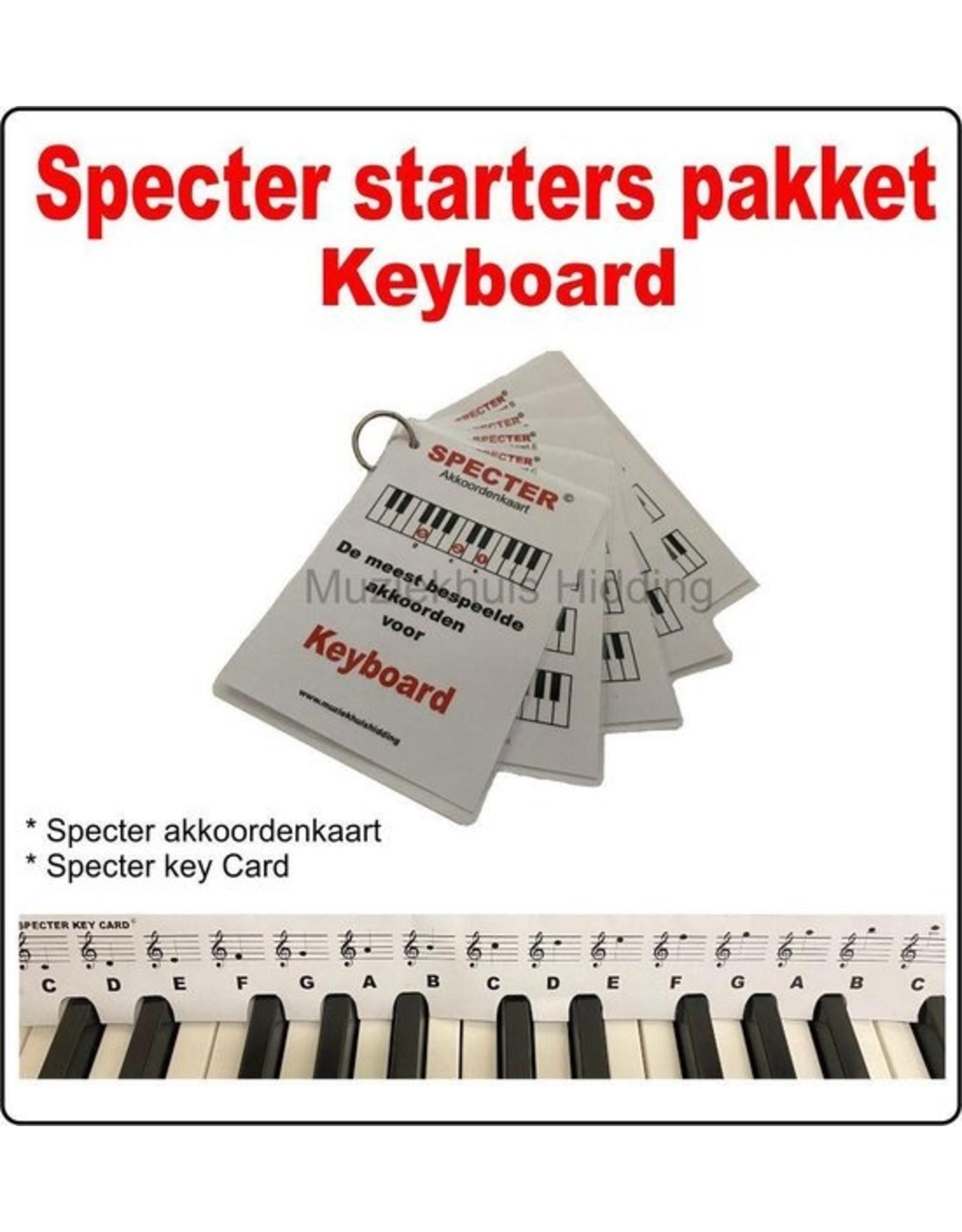 Specter Specter Piano / Keyboard beginner pakket / Akkoordenkaart / Keycard