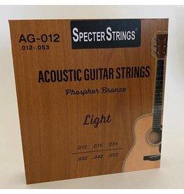 Specter Specter Strings professionele snaren voor de akoestische gitaar (western gitaar) set .012 Bronze - snarenset