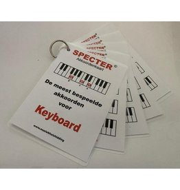 Specter Akkoorden - de meest bespeelde akkoorden voor keyboard (piano)