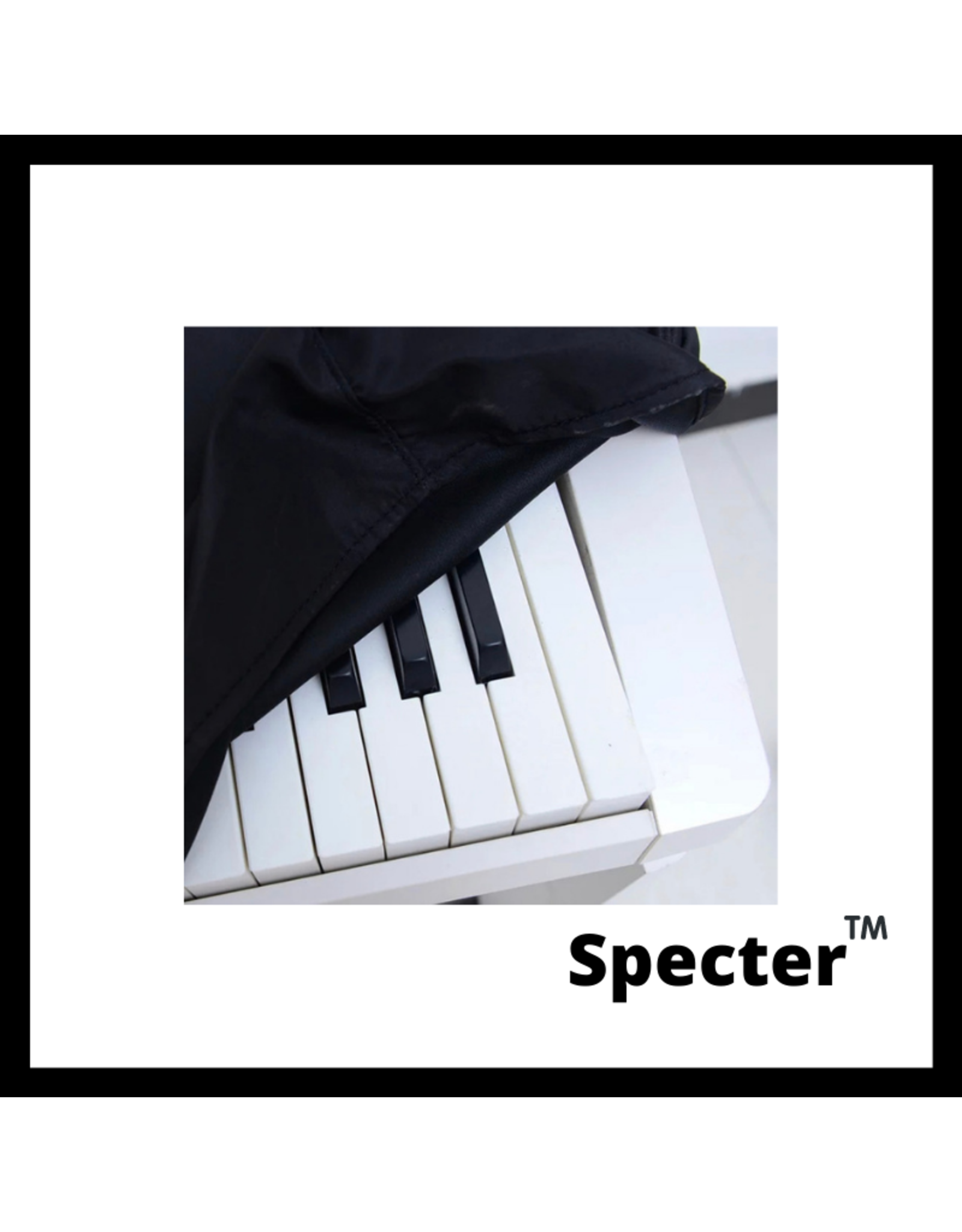Specter Specter Piano Stofhoes 88 toetsen