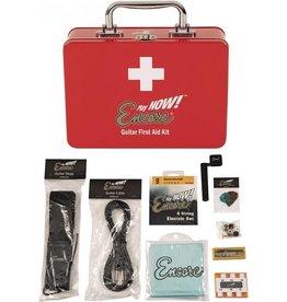 Encore Elektrische Gitaar accesoires EHBO Kit met gitaarsnaren - snarenwinder - gitaar riem - stemfluitje - plectrums
