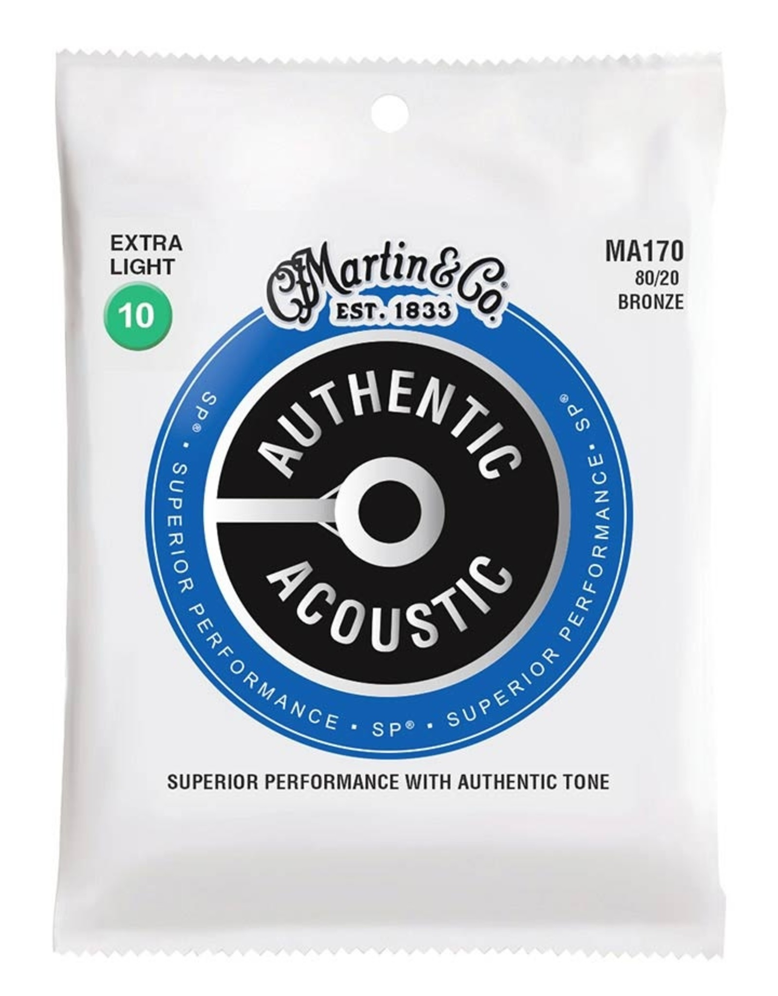 Martin & Co MA170 |Martin Authentic Acoustic snarenset akoestisch
