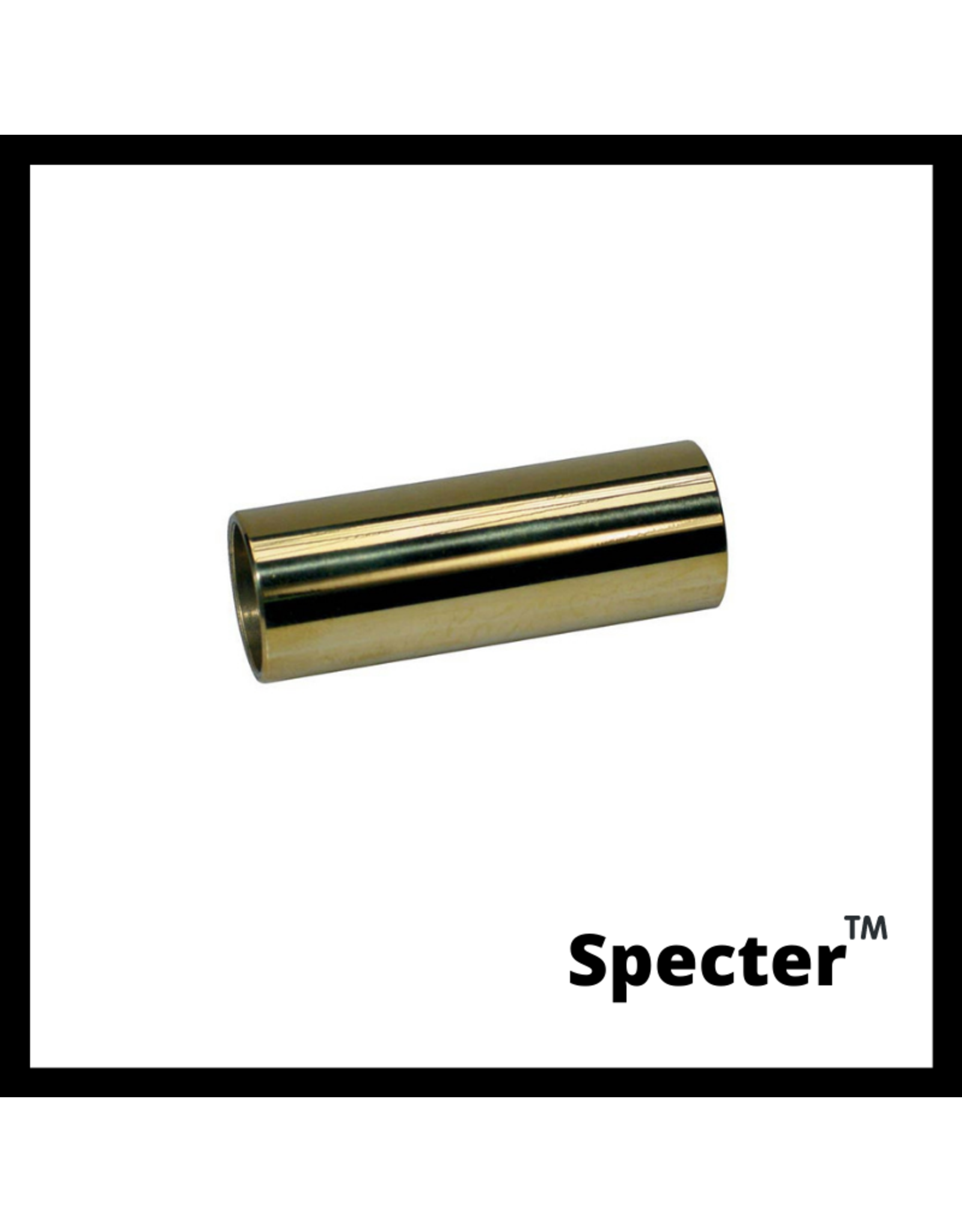 Specter Specter Gitaar Slide - Messing Bottleneck - Gitaar - Slide