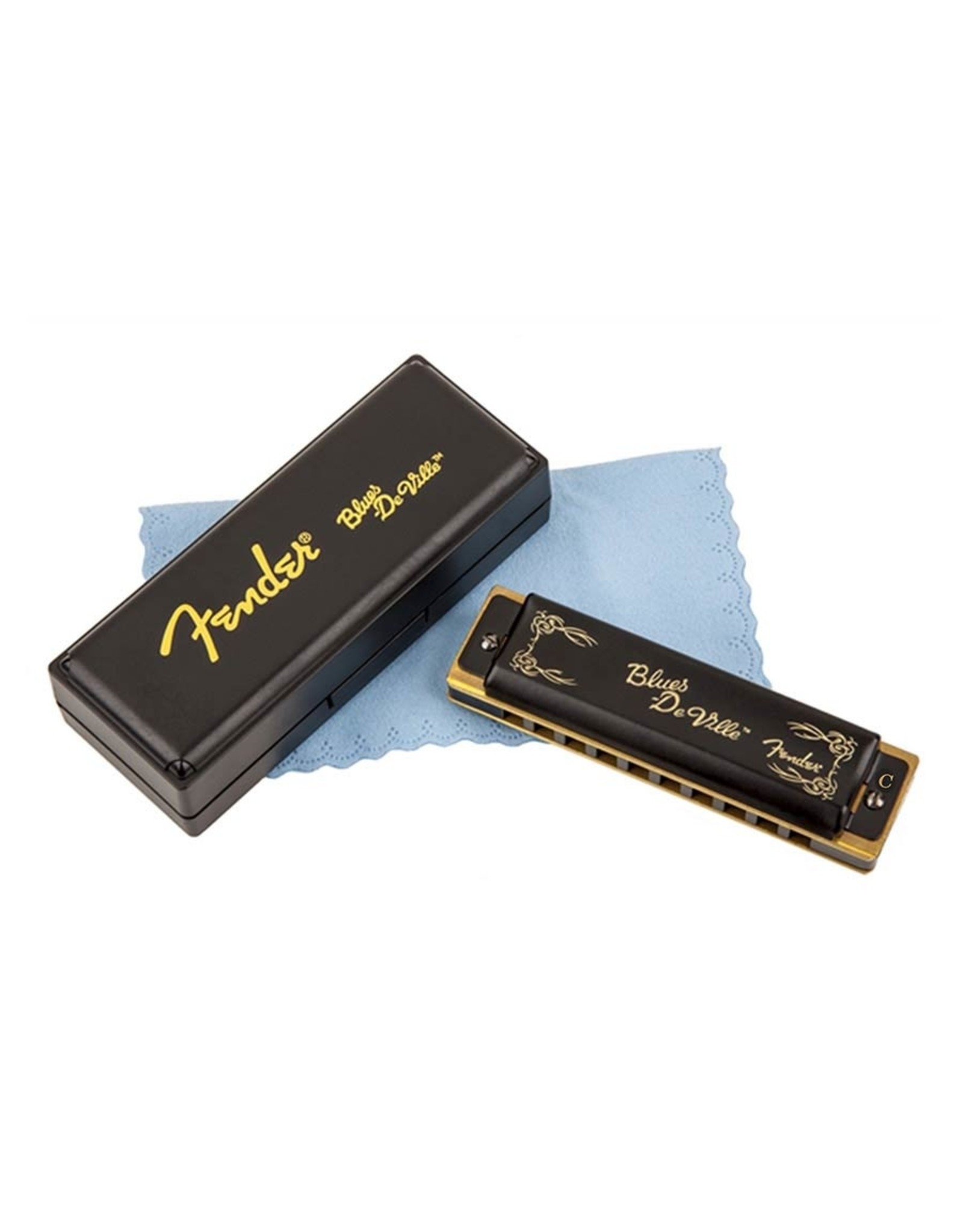 Fender Mondharmonica Blues DeVille Fender PRO toonsoort C