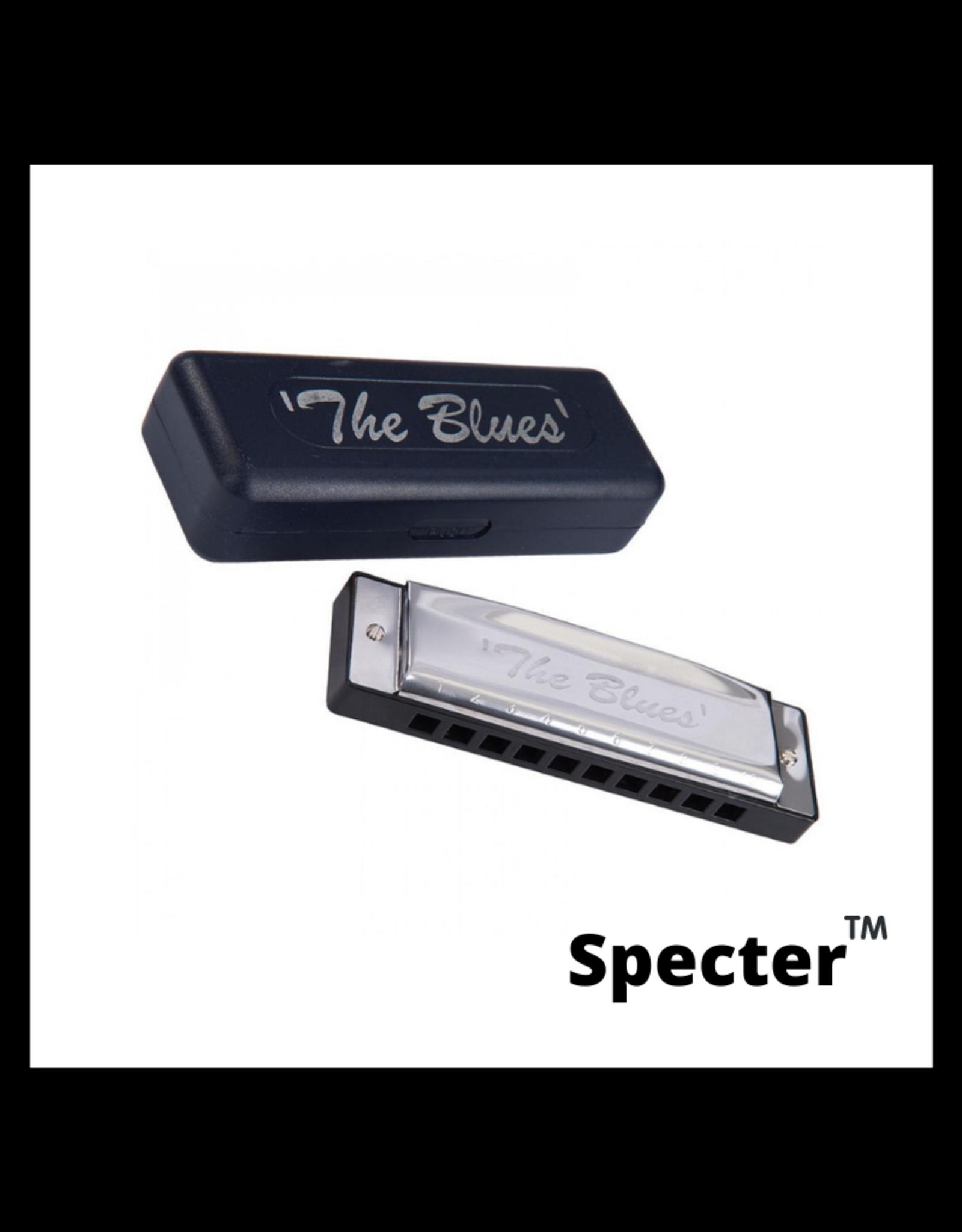 specter Specter Blues Mondharmonica Toonsoort F