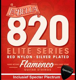 La Bella La Bella Pro Gitaarsnaren Voor De Klassieke Gitaar Met Specter Plectrum | Snarenset | Klassiek | Nylon