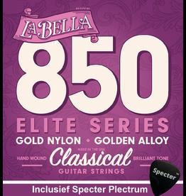La Bella La Bella Pro Concert Gitaarsnaren Voor De Klassieke Gitaar Met Specter Plectrum   Snarenset   Klassiek   Nylon