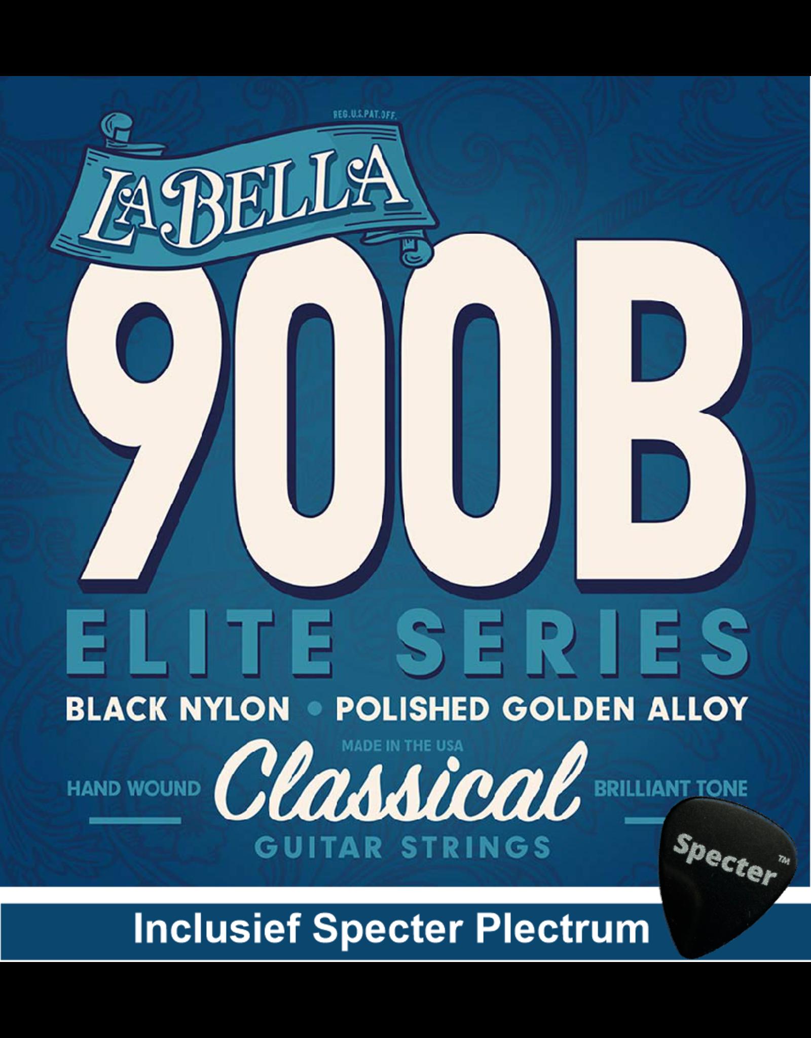 La Bella La Bella Pro Superior Gitaarsnaren Voor De Klassieke Gitaar Met Specter Plectrum | Snarenset | Klassiek | Nylon