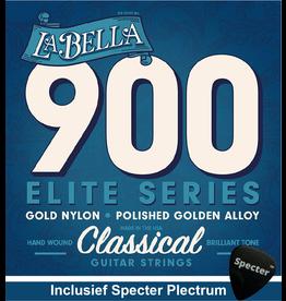 La Bella La Bella Pro Superior Gitaarsnaren Voor De Klassieke Gitaar Met Specter Plectrum   Snarenset   Klassiek   Nylon