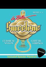 La Bella La Bella Sweettone Gitaarsnaren Voor De Klassieke Gitaar Met Specter Plectrum | Snarenset | Klassiek | Nylon