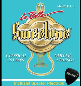 La Bella La Bella Sweettone Gitaarsnaren Voor De Klassieke Gitaar Met Specter Plectrum   Snarenset   Klassiek   Nylon