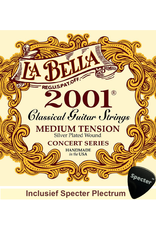 La Bella La Bella Pro 2001 Gitaarsnaren Voor De Klassieke Gitaar Met Specter Plectrum   Snarenset   Klassiek   Nylon