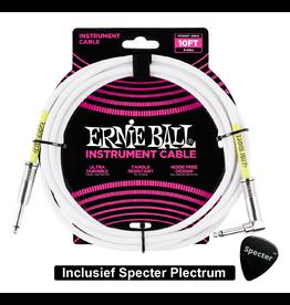 Ernie Ball Ernie Ball Gitaarkabel 3 Meter Met Specter Plectrum | Gitaarkabel | Instrumentkabel