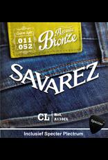 Savarez Savarez A130CL Premium Gitaarsnaren Voor De Akoestische Gitaar Met Specter Plectrum | Snarenset | Akoestisch | Stalen Snaren