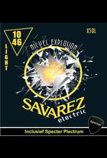 Savarez Savarez X50L Premium Gitaarsnaren Voor De Elektrische Gitaar Met Specter Plectrum | Snarenset | Elektrisch | Stalen Snaren