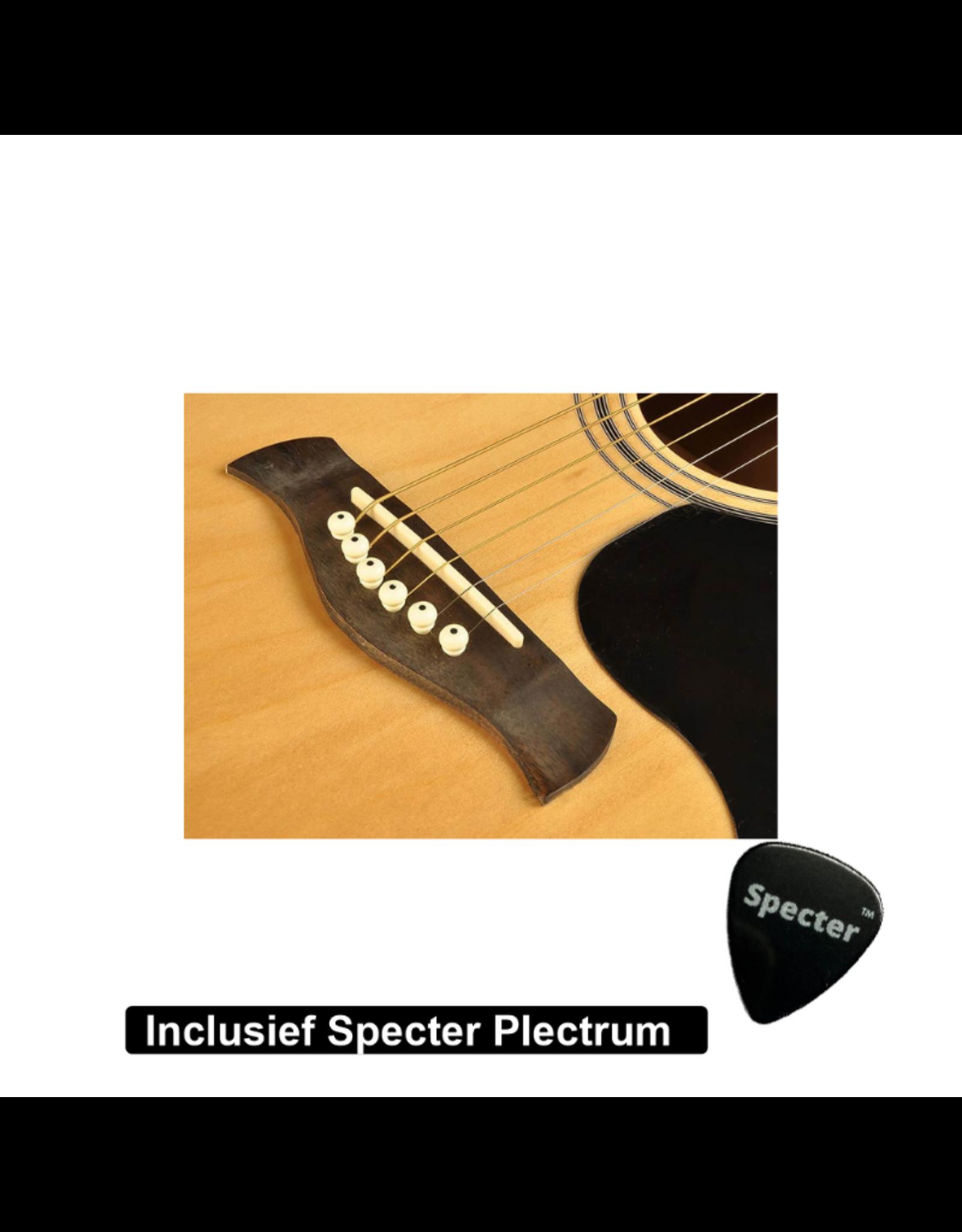 Richwood  Akoestische Gitaar Artist Series met Plectrum | Gitaar | Akoestisch | Gitaar met accessoires