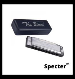 Specter Specter Blues Professionele Mondharmonica Voor Volwassenen In Toonsoort B