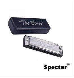 Specter Specter Blues Professionele Mondharmonica Voor Volwassenen In Toonsoort Bes