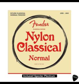 Fender Fender Nylon Snarenset voor de Klassieke Gitaar Met Plectrum
