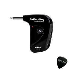 NUX NUX gitaarplug hoofdtelefoon versterker met Aux-in