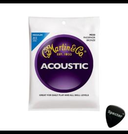 Martin & Co M-550| Martin Traditional Series snarenset akoestisch Met Specter Plectrum