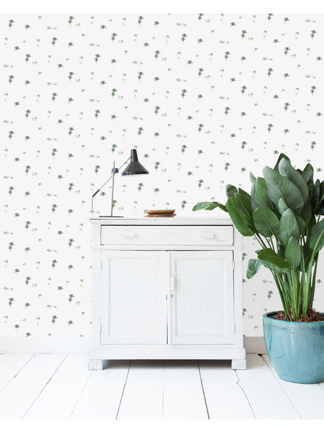Creative Lab Amsterdam Elephant Parade Wallpaper on roll