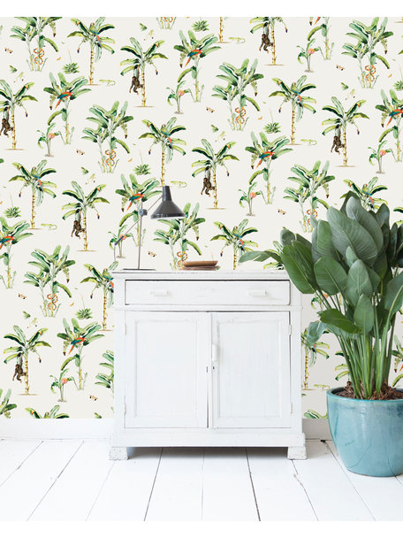 Creative Lab Amsterdam Happy Chaos Wallpaper on roll