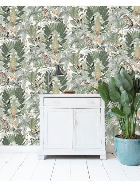 Creative Lab Amsterdam Into the Wild Wallpaper on roll