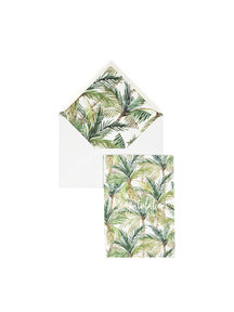 Creative Lab Amsterdam Palm Green Greeting Card
