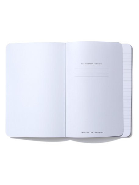 Creative Lab Amsterdam White Parrot Notebook