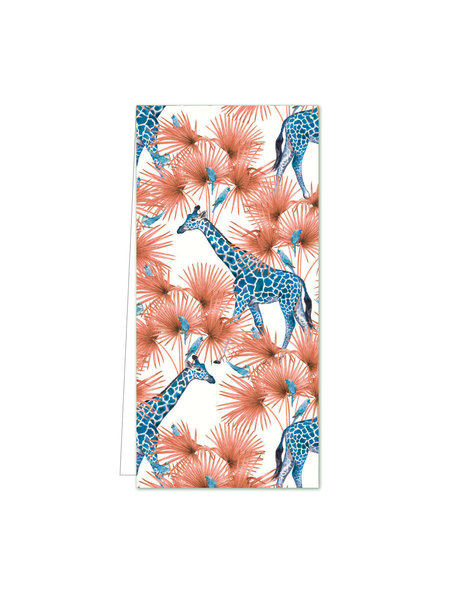 Creative Lab Amsterdam Blue Giraffe Flowercard