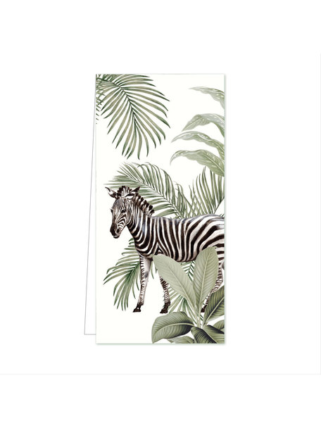 Creative Lab Amsterdam Into the Wild Zebra Flowercard