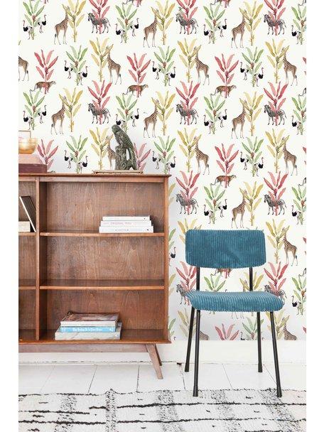 Creative Lab Amsterdam Color Palm Behang