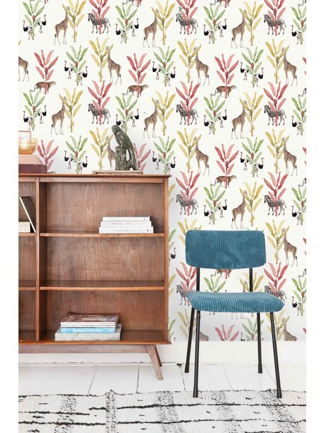 Creative Lab Amsterdam Color Palm Wallpaper