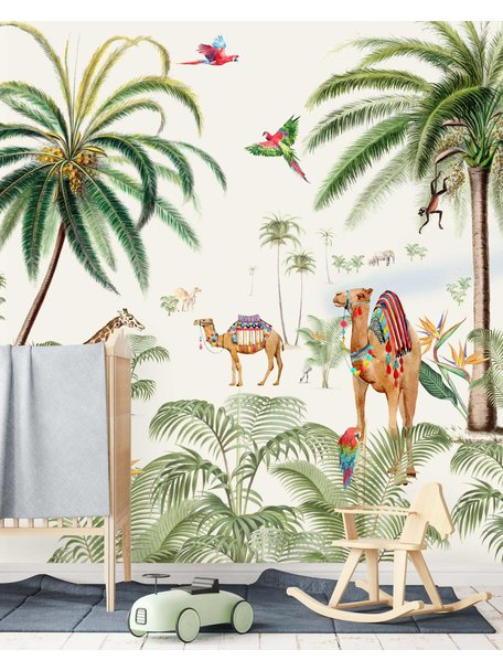Creative Lab Amsterdam Binti Baby Behang setting