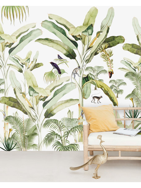 Creative Lab Amsterdam Baby Bananas Wallpaper Mural