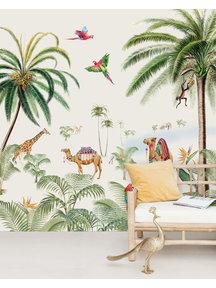 Creative Lab Amsterdam Binti Baby Behang Mural