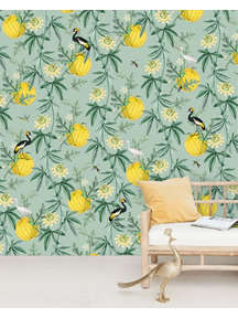 Creative Lab Amsterdam Crowned Wallpaper Mural
