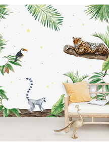Creative Lab Amsterdam Jungle Tiger Wallpaper Mural