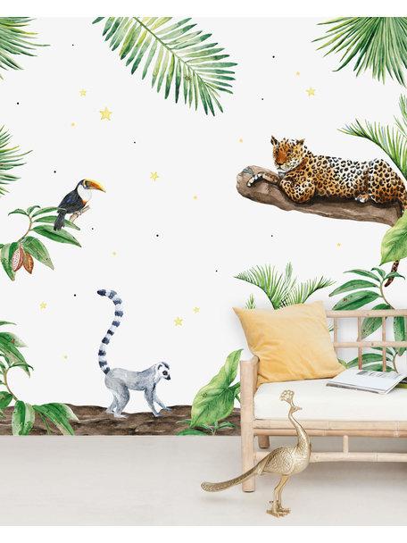 Creative Lab Amsterdam Jungle Tiger Behang Mural