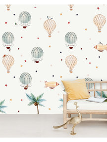 Creative Lab Amsterdam Little Balloon Wallpaper Mural