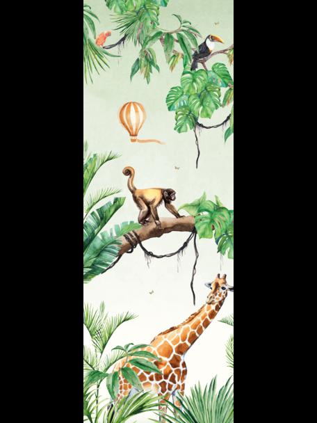 Creative Lab Amsterdam Monkey Jungle Behang Mural