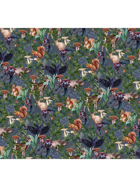 Creative Lab Amsterdam Oh Deer Behang Mural