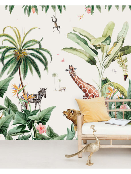 Creative Lab Amsterdam Sanny & Charlie Behang Mural