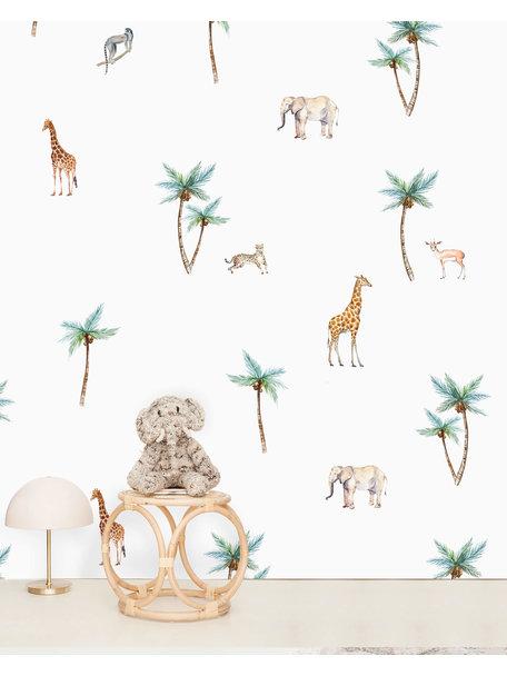 Creative Lab Amsterdam Savannah Palm Tree Wallpaper Mural