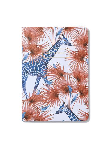 Creative Lab Amsterdam Blue Giraffe Notebook